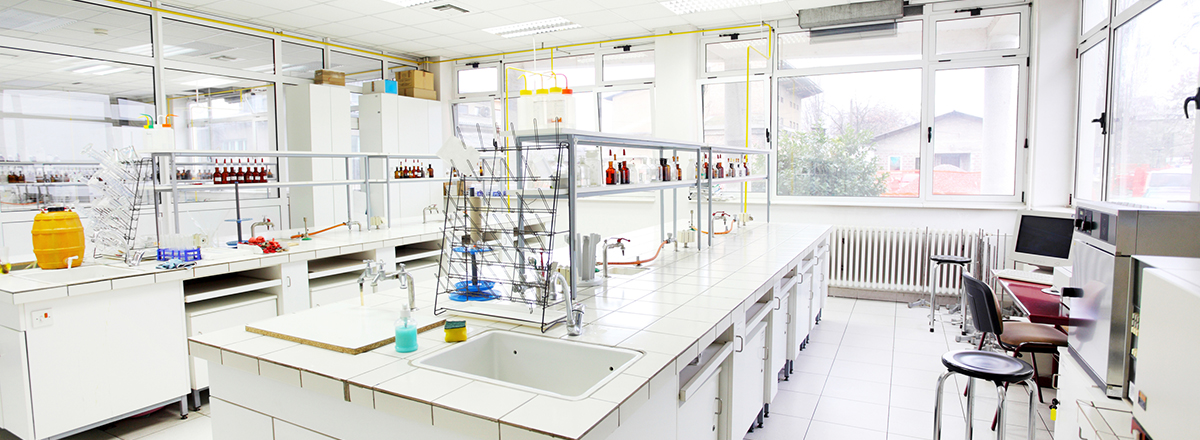 Chemical laboratory.